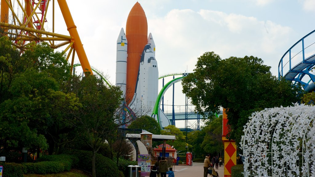 Space World showing rides