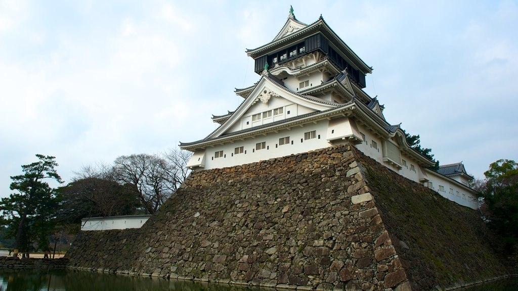 Kokura Castle featuring a castle and heritage architecture