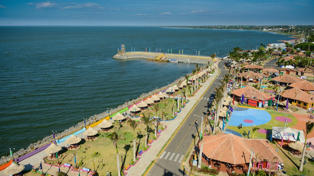 Managua which includes general coastal views and a luxury hotel or resort