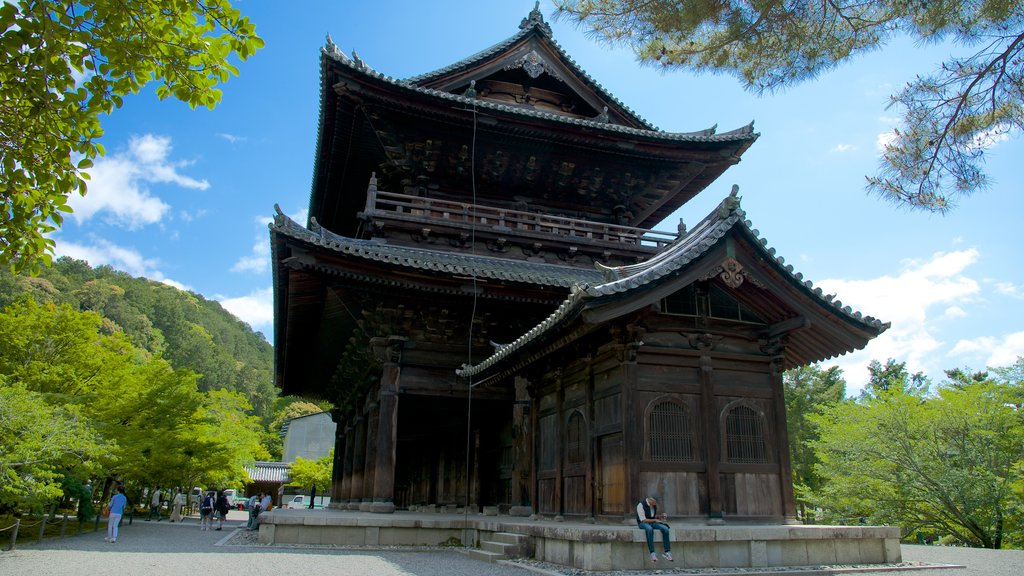 Nanzenji Temple featuring a temple or place of worship and religious elements