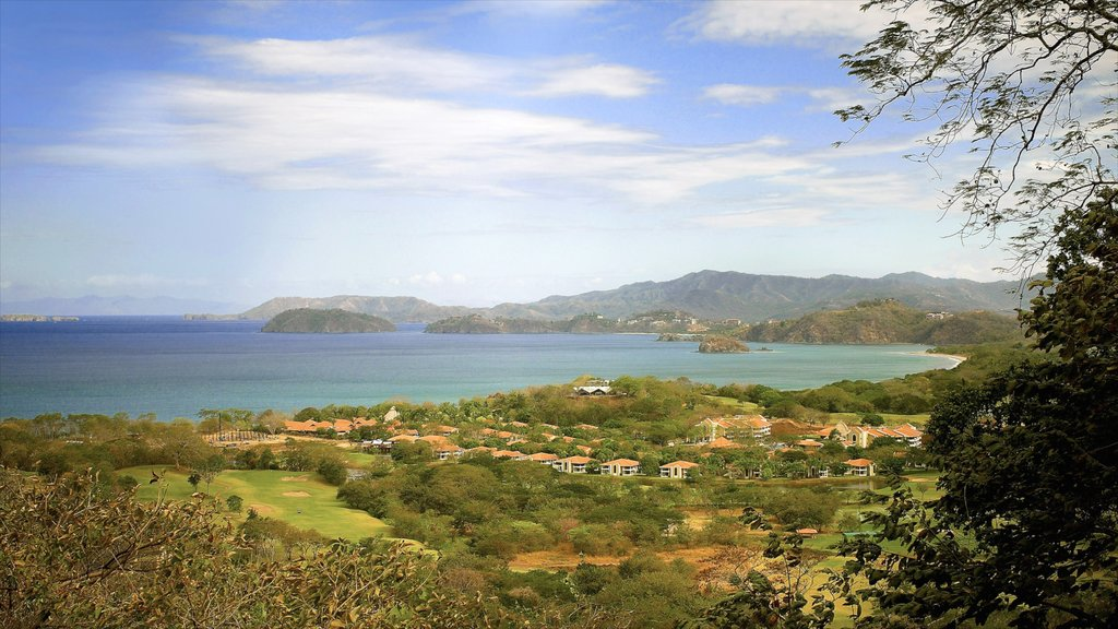 Guanacaste - North Pacific Coast showing landscape views, general coastal views and a coastal town