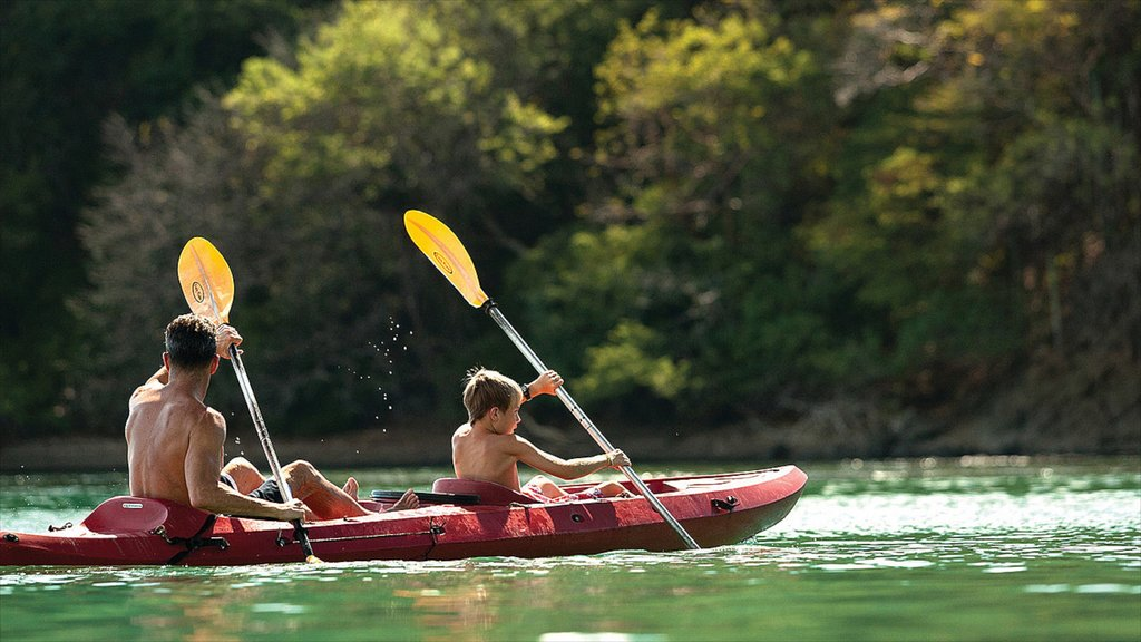 Guanacaste - North Pacific Coast showing kayaking or canoeing and general coastal views