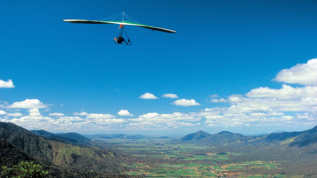 Mackay which includes landscape views, mountains and an aircraft