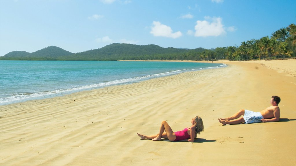 Mackay which includes tropical scenes, landscape views and a sandy beach