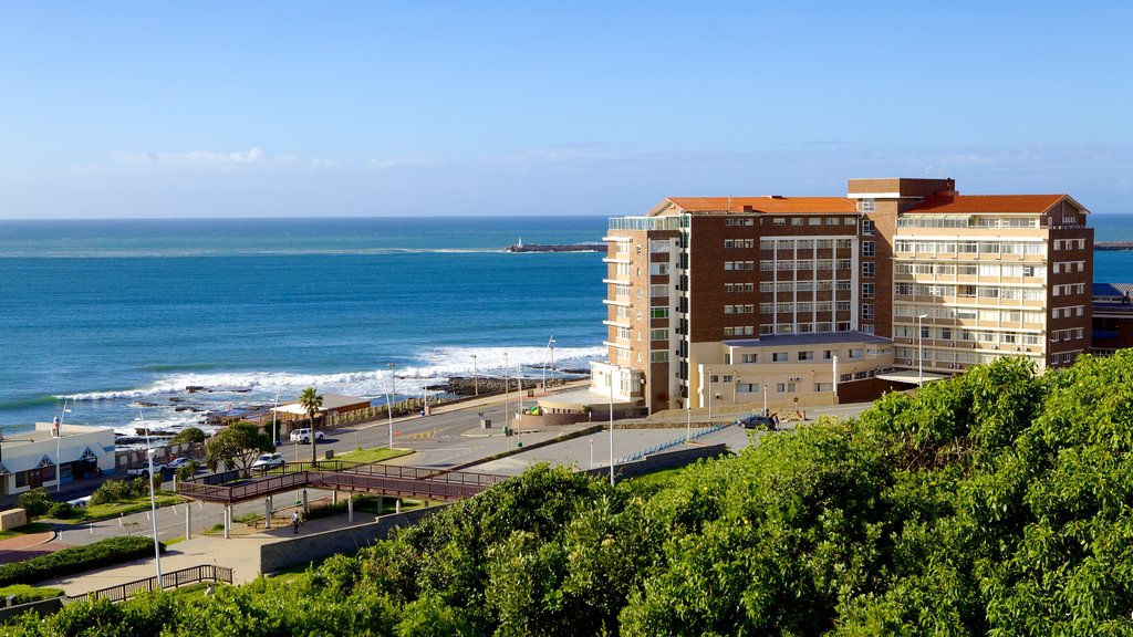 Eastern Beach showing general coastal views, a hotel and landscape views