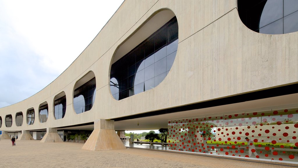 Bank of Brazil Cultural Center which includes street scenes and modern architecture