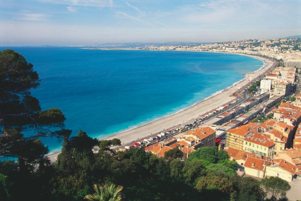 Baie des Anges, Nice, Cote d'Azur, France