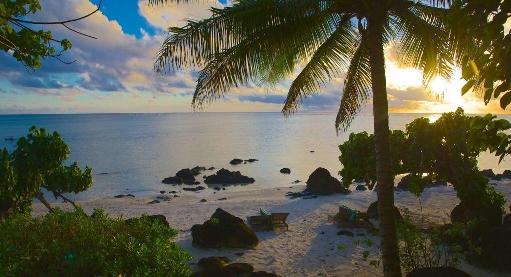 Aitutaki Sunset Beach