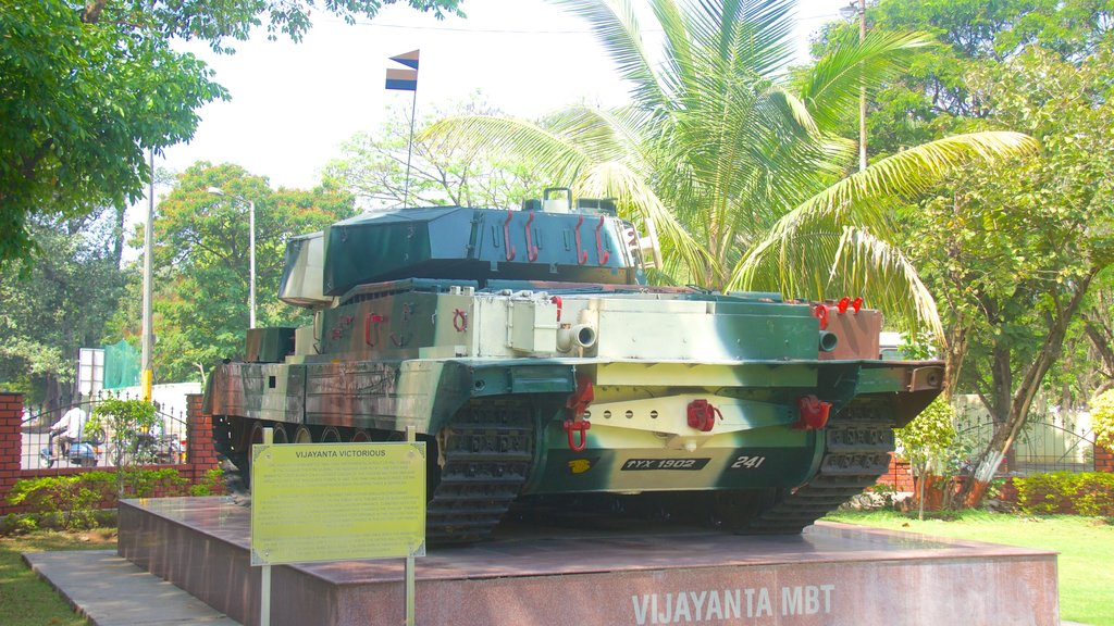 Pune showing military items