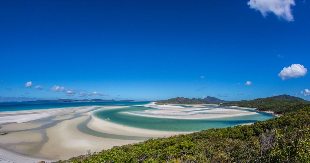 Whitsunday Beach Blue Sky