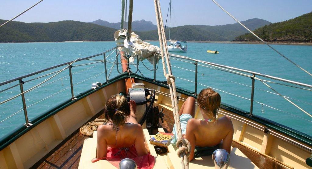 Whitsunday Ship Sailing