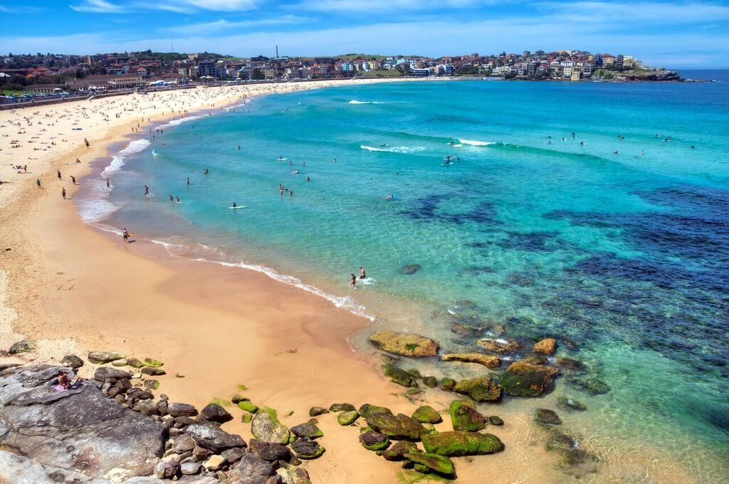 Bondi Beach Blue Sea