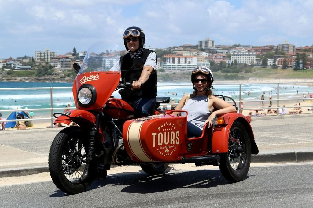 Bondi Beach Motorcycle Sidecar