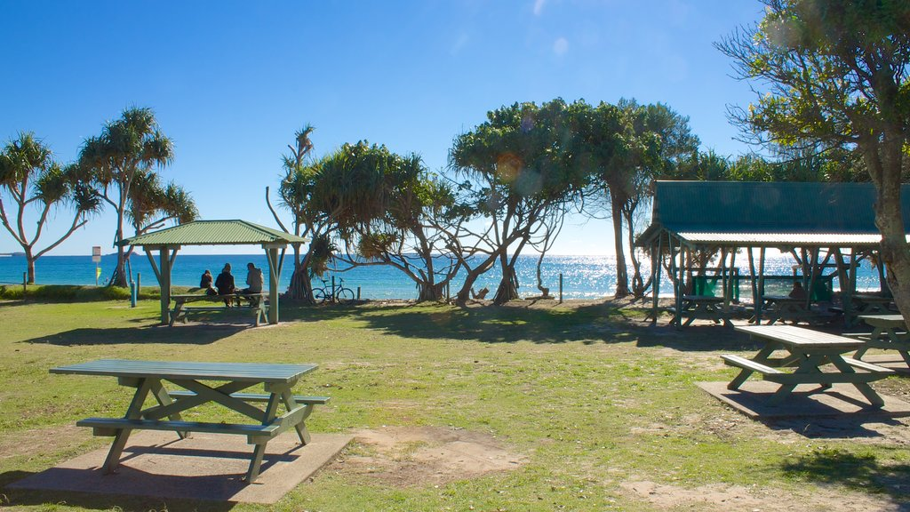 Kingscliff featuring general coastal views and a garden