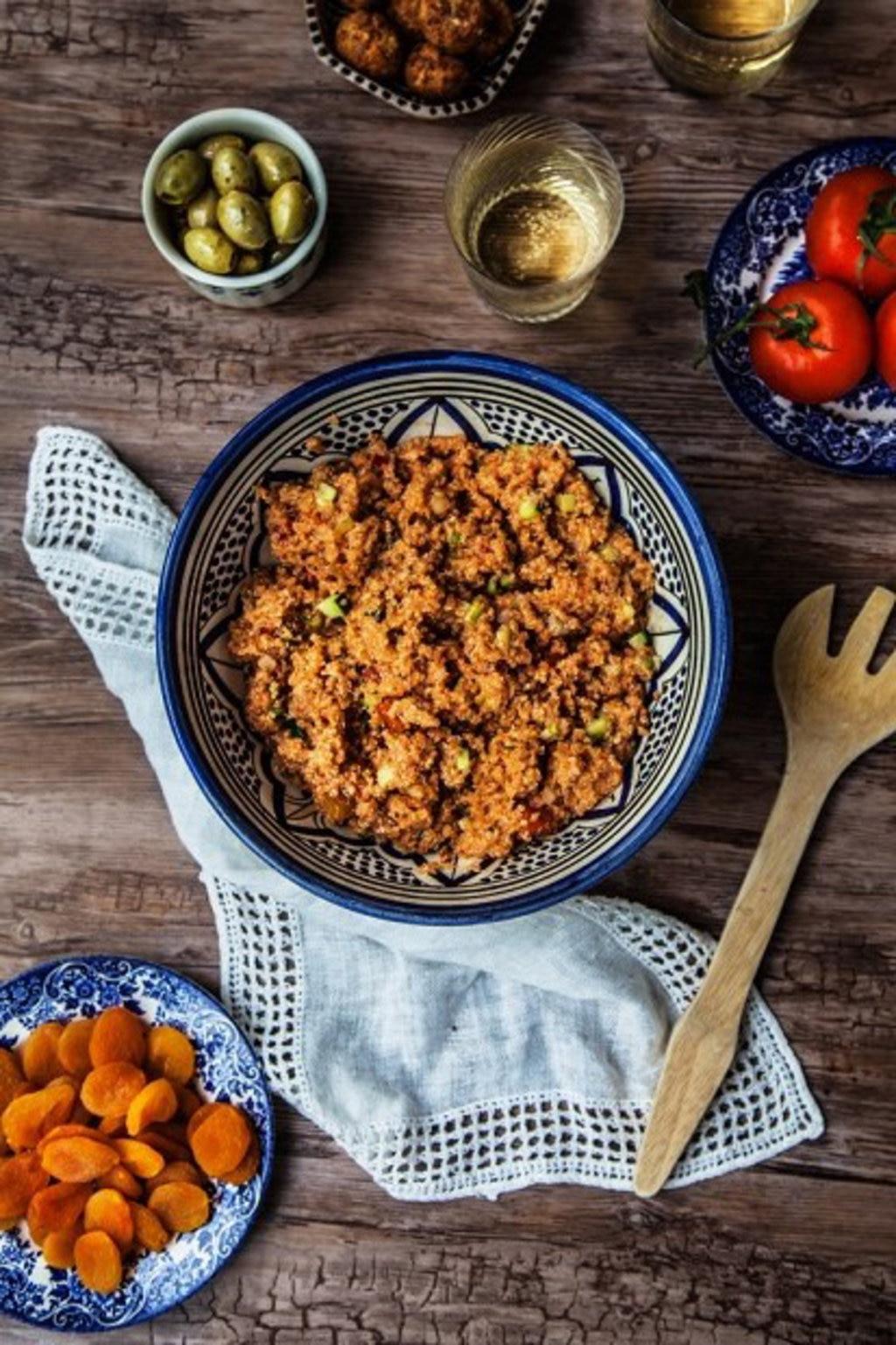 Turkish gluten-free kisir