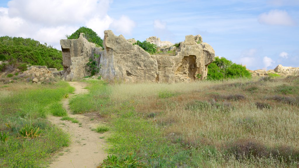 Tombs of the Kings featuring building ruins