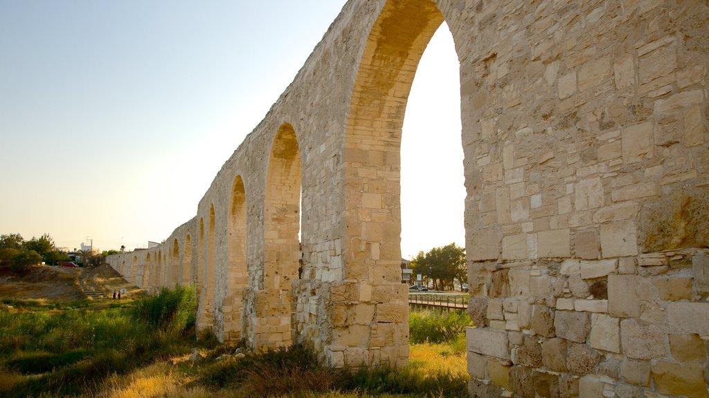 Larnaca Aqueduct showing heritage architecture