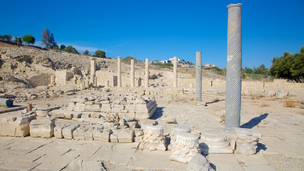 Amathus Ruins featuring a ruin