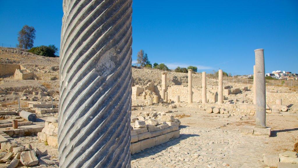 Amathus Ruins featuring a ruin