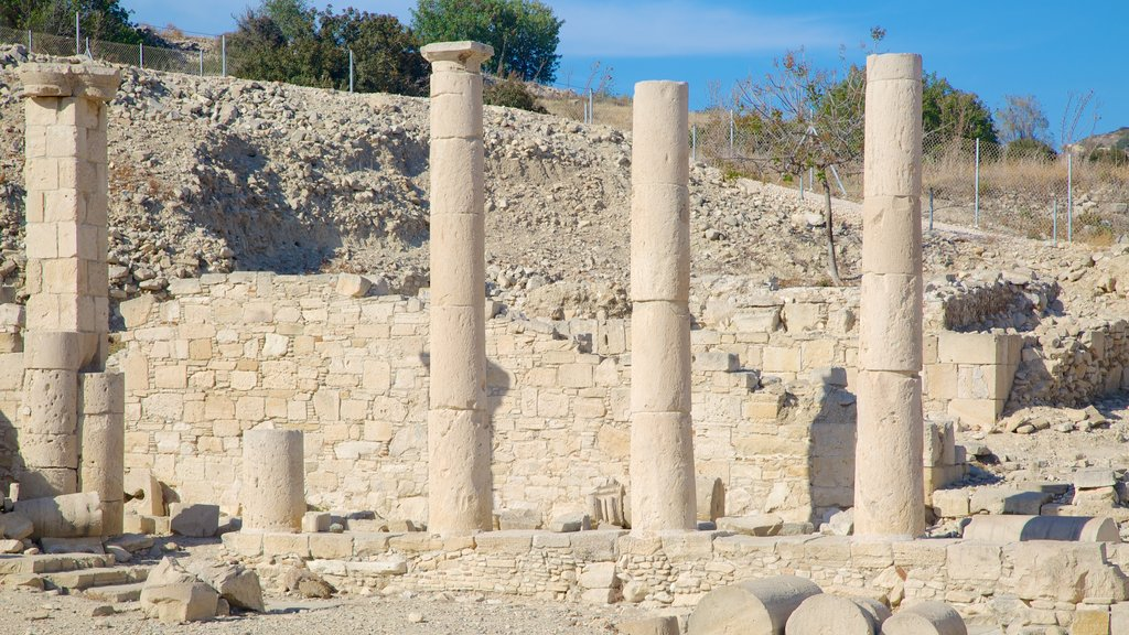 Amathus Ruins which includes a ruin