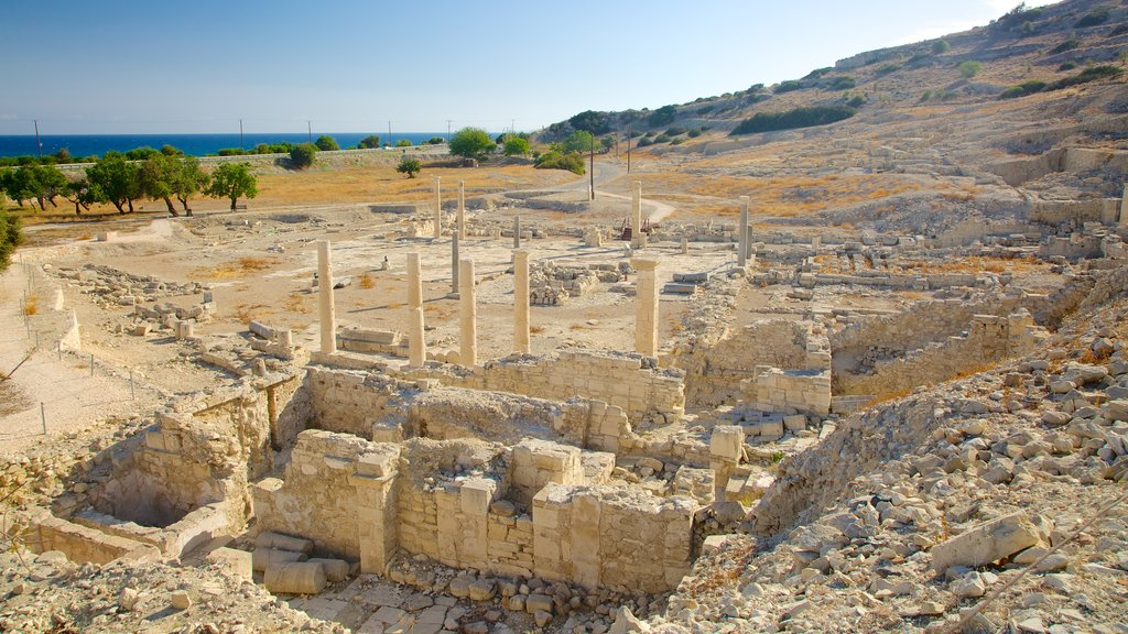 Amathus Ruins which includes building ruins