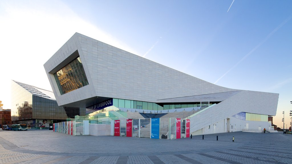 Museum of Liverpool showing modern architecture