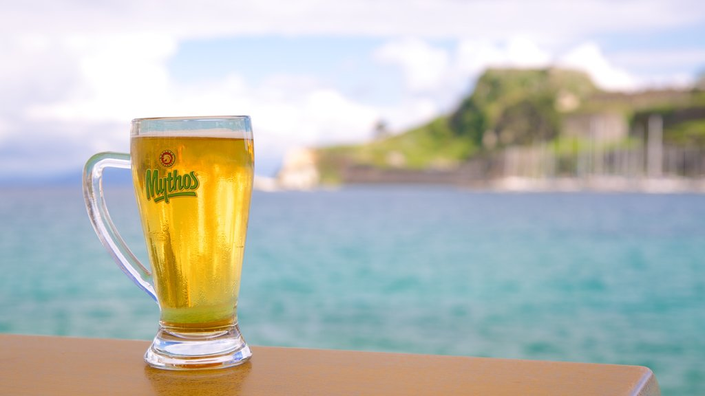 Corfu Island which includes drinks or beverages