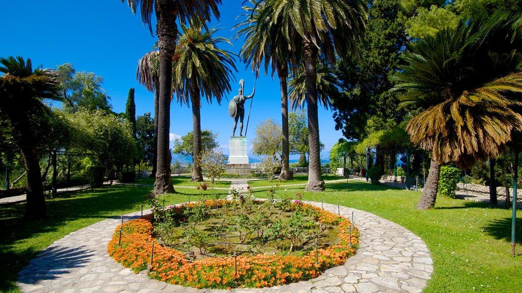 Achilleion ofreciendo un parque