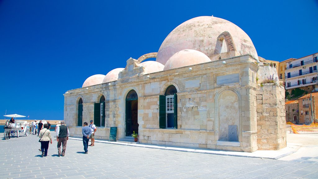 Mosque of Kioutsouk Hassan showing a mosque, heritage architecture and religious aspects