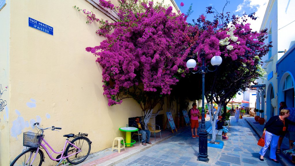 Kos which includes street scenes