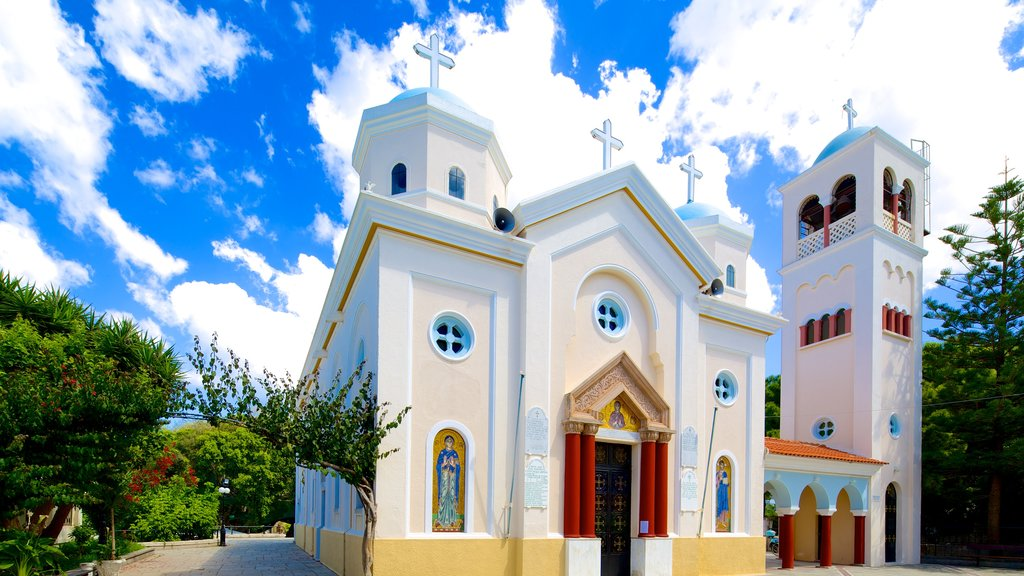 Kos showing religious aspects and a church or cathedral