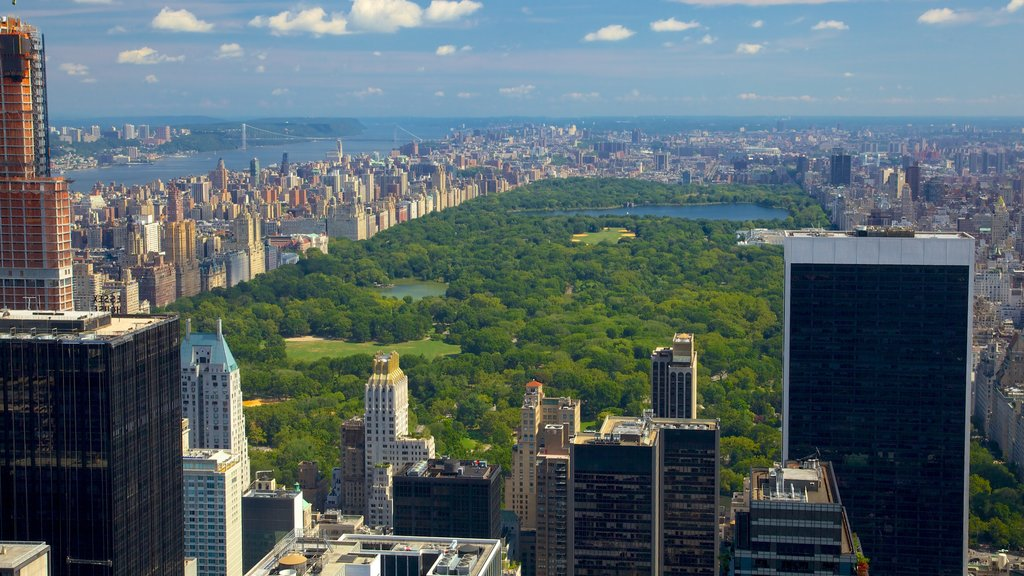 New York which includes a city, cbd and a high rise building