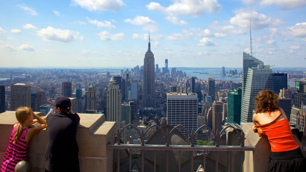 New York featuring views, skyline and a city