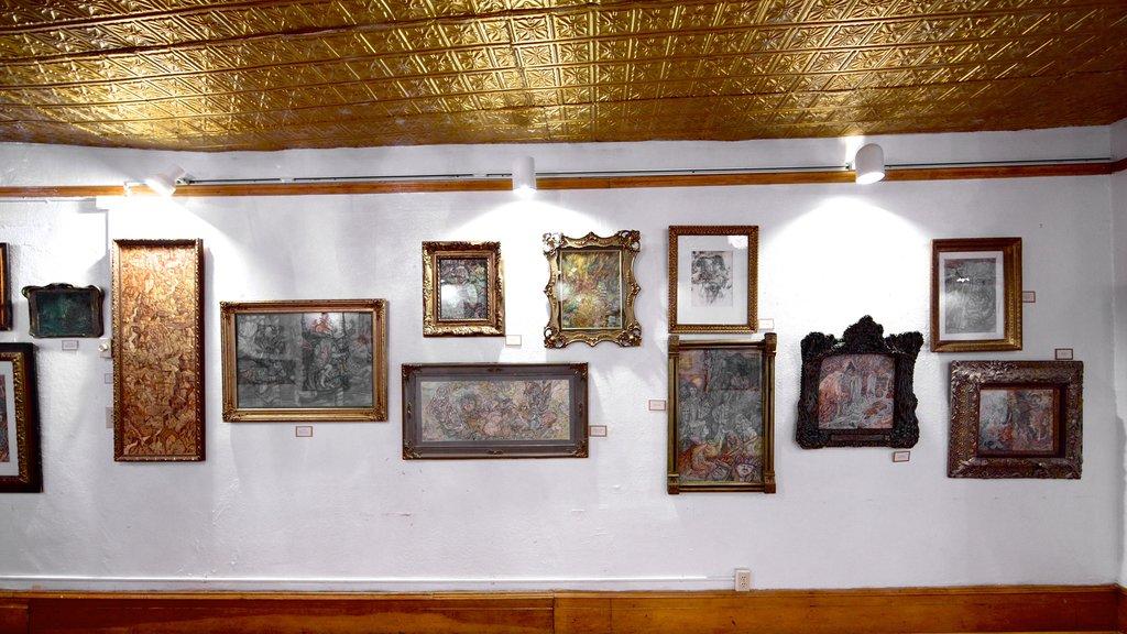 Miramont Castle featuring art