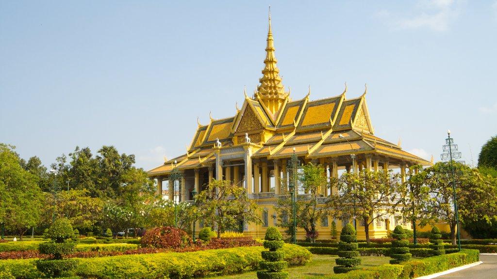 Camboya mostrando un templo o lugar de culto
