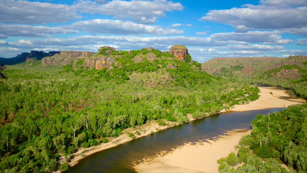 Kakadu National Park which includes a river or creek