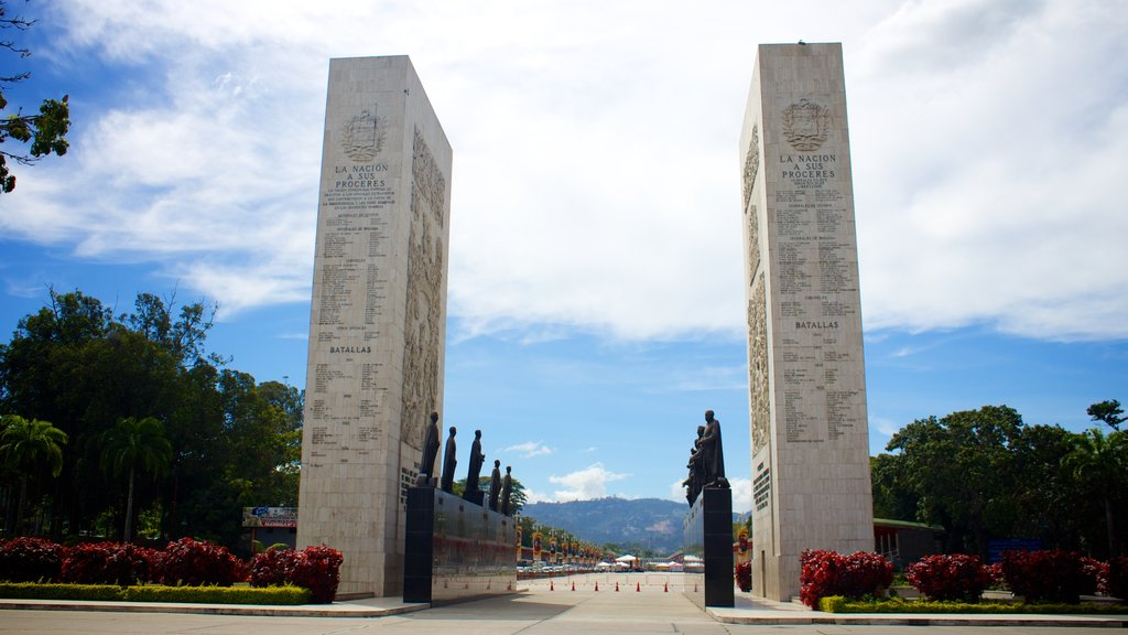 Northern Mountains featuring a monument and a memorial