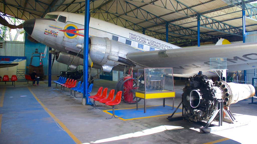 Transport Museum Guillermo Jose Schael featuring aircraft