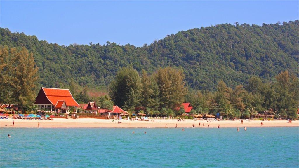 Ko Lanta featuring a sandy beach and general coastal views