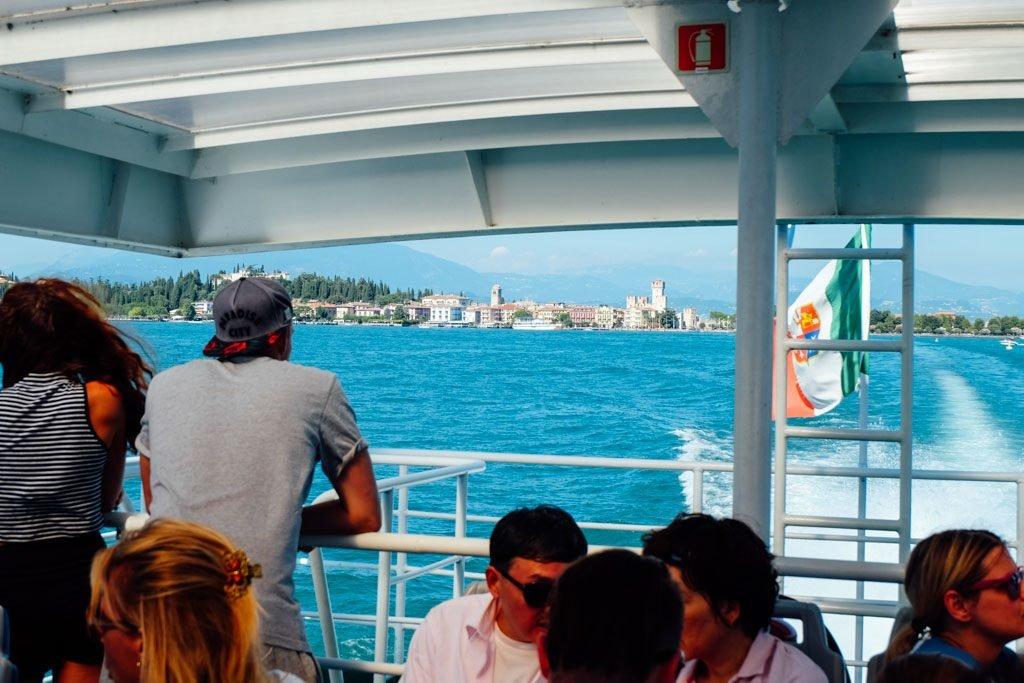Sirmione-Italy-Ferry