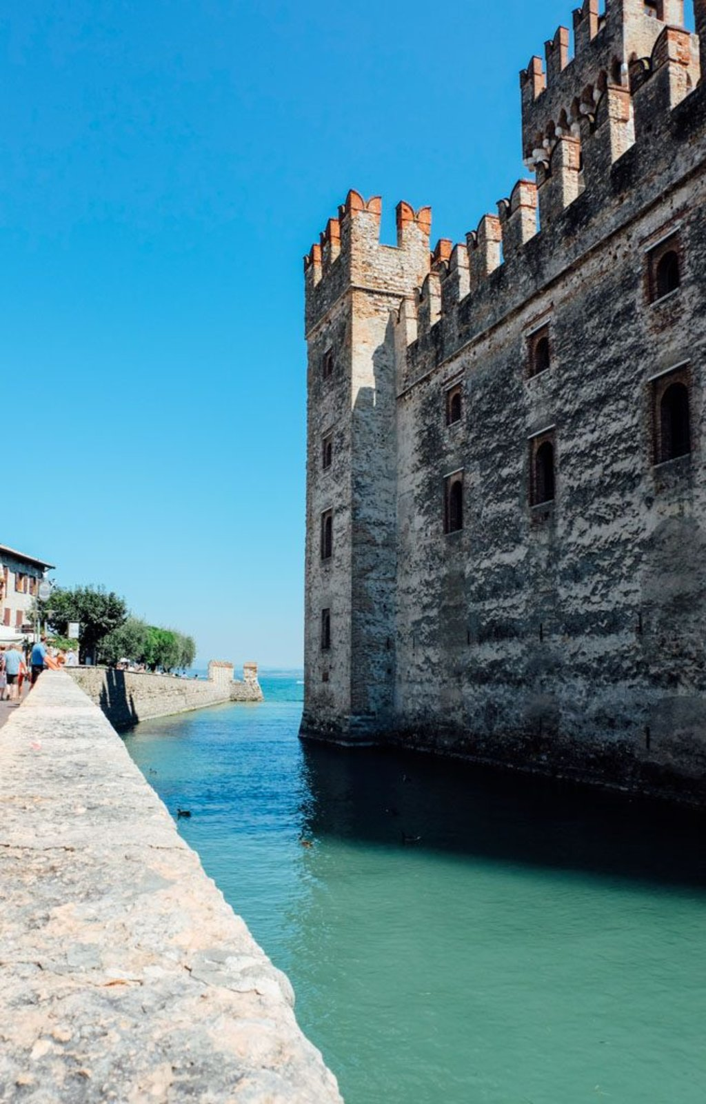 Sirmione-Italy castle