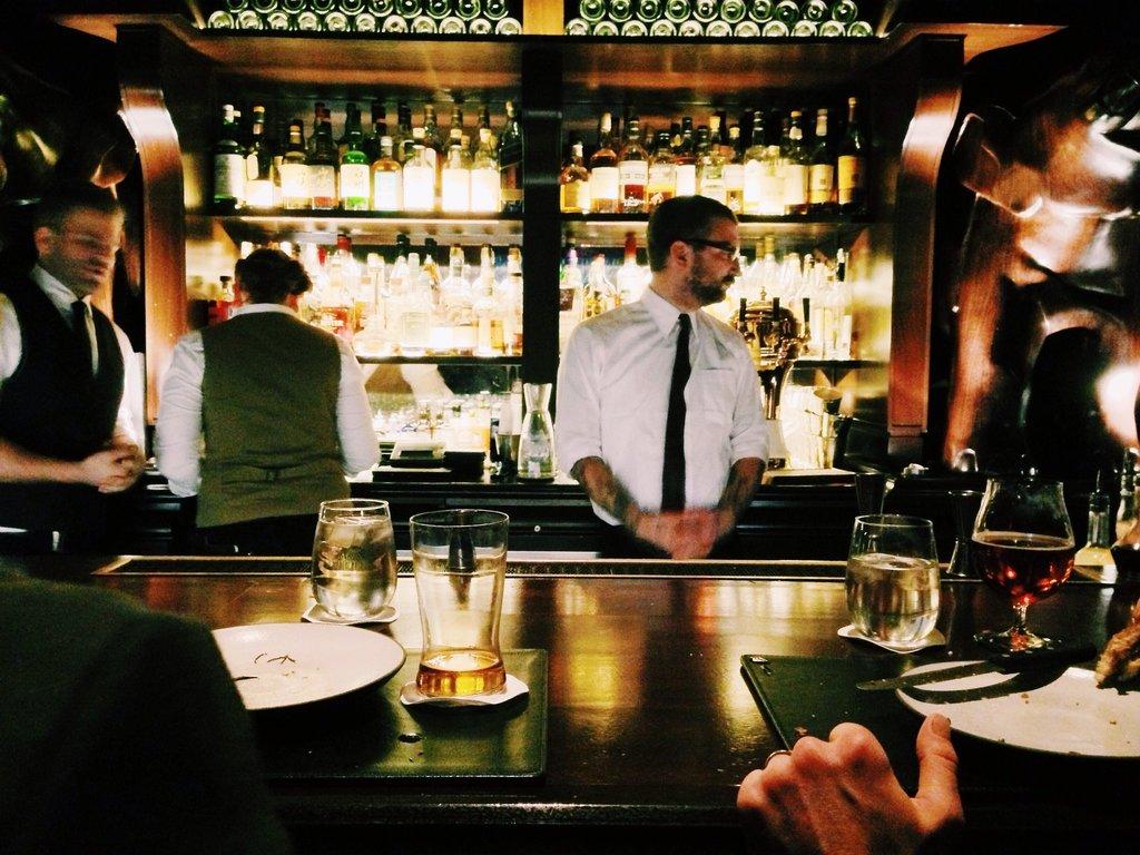 Amsterdam bartender