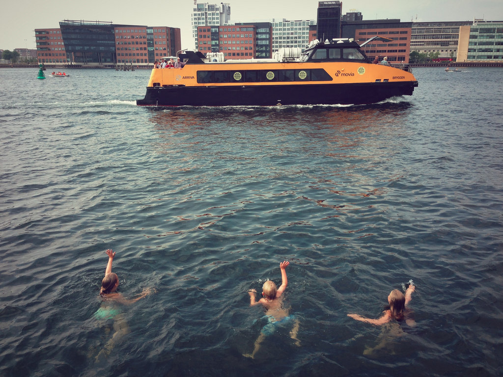 Harbour baths, Copenhagen