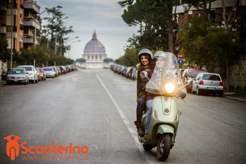 Scooterino, Rome
