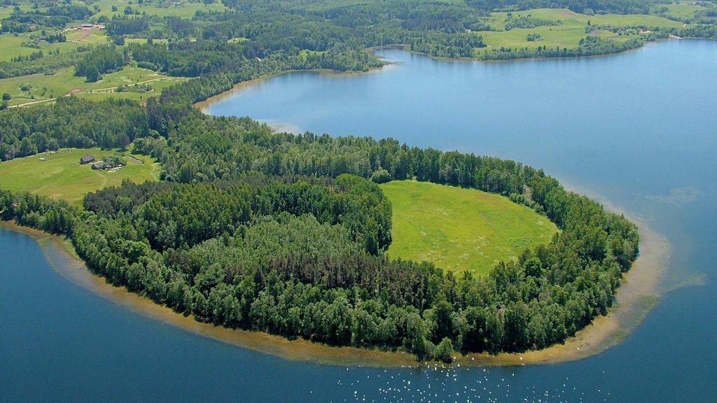 Latvia featuring a lake or waterhole