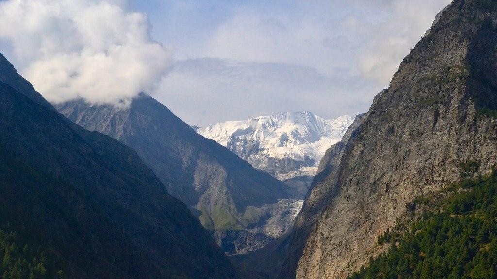 Manali showing mountains