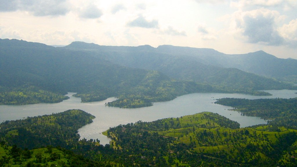 Mahabaleshwar which includes forests and a lake or waterhole
