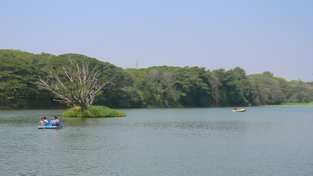 Mysore featuring boating and a lake or waterhole