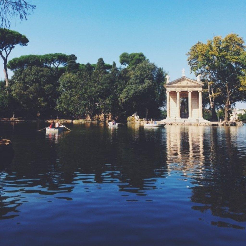 Rowboats, Villa Borghese