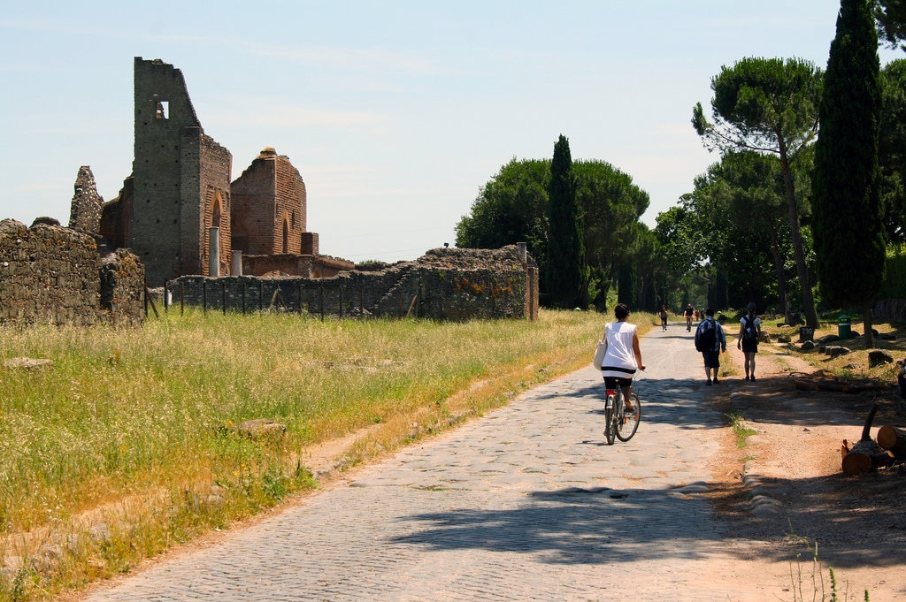 Cycling the Via Appia